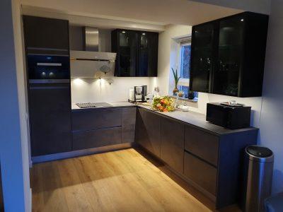 Keuken zwart