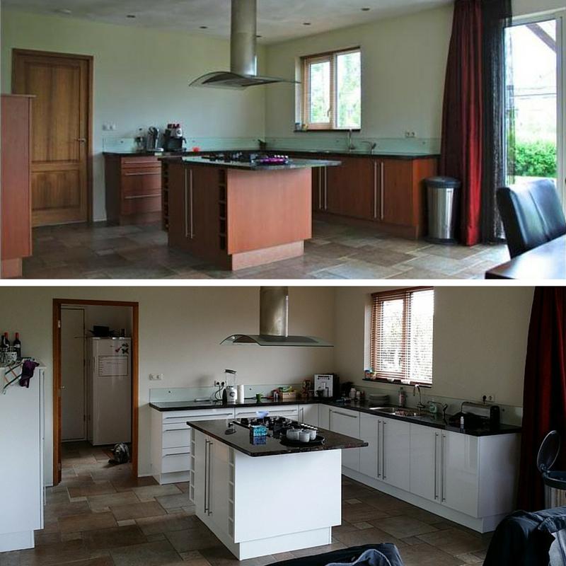 keuken spuiten groningen friesland drenthe keuken renovatie