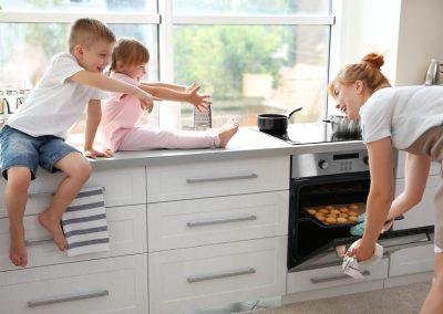 oven in de keuken